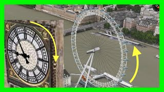 london eye big ben s clock now animated on apple maps 3d flyovers on ios mac osx