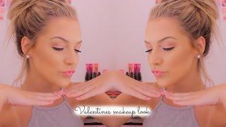 Valentines Day makeup look || Lilyellaburt ♡