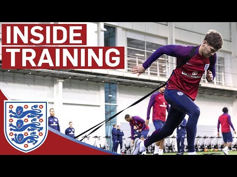 Pre-Activation Training Drills with the England Team | Inside Training