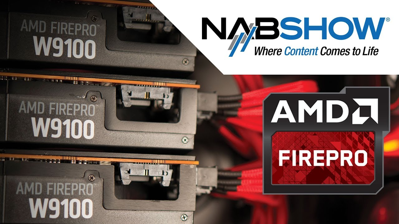 AMD FirePro™ Graphics Highlights from NAB 2014