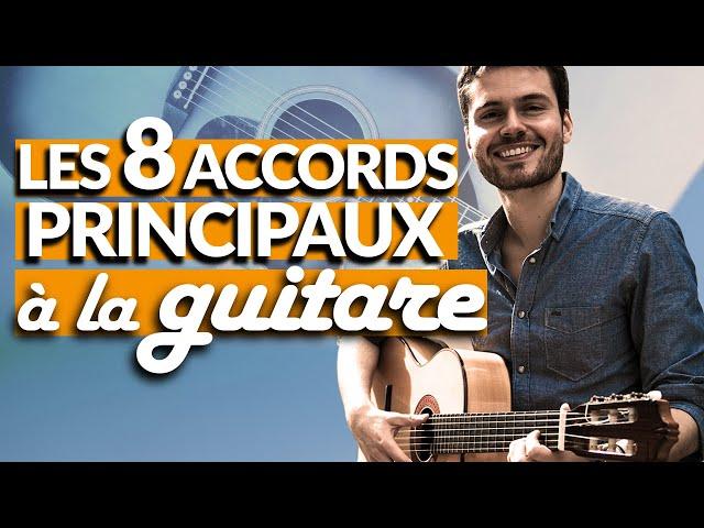 DEBUTANT : 8 accords de guitare à APPRENDRE