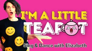 💜Action Brain Breaks For Kids 💜 I'M A LITTLE TEAPOT💜Nursery Rhymes