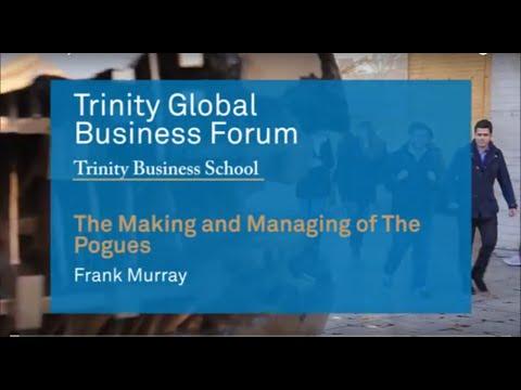 Frank Murray's keynote speech at the Trinity Global Business Forum 2016