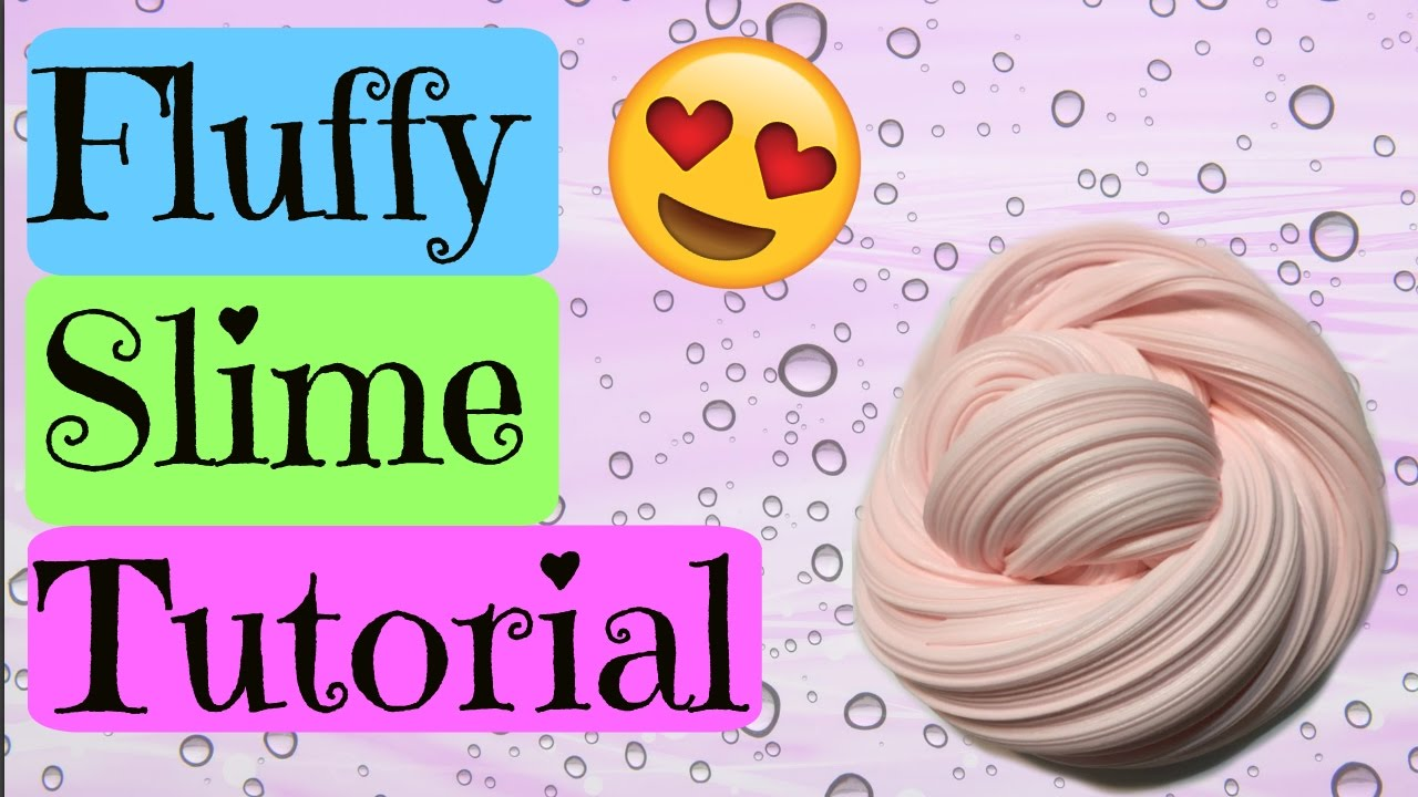 Fluffy Slime Tutorial!