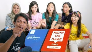 BLAK - BLAKAN SOAL MANTAN!!! Truth or Dare with 19 Letters Cast (#19Games)