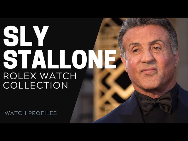 Sylvester Stallone Rolex Watch Collection | SwissWatchExpo