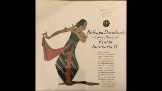 Bêdhaya Duradasih - Court Music Of Kraton Surakarta II