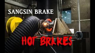 Горячие тормоза! Burning Sangsin Brake
