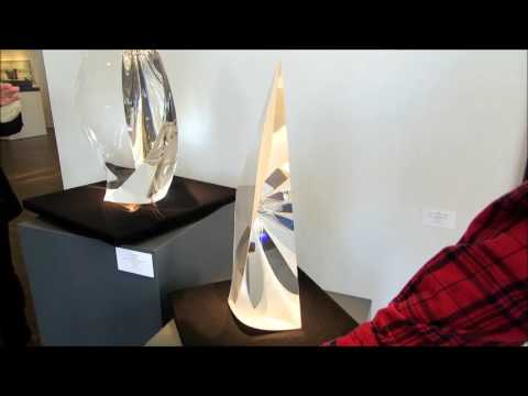 Glass by Christopher Ries at Hawk Galleries, Columbus OH