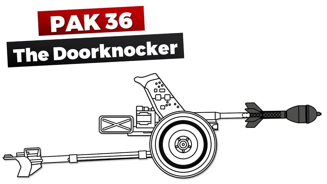 Pak 36: The most effective Doorknocker @DasPanzermuseum