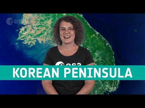 Earth from Space: Korean Peninsula