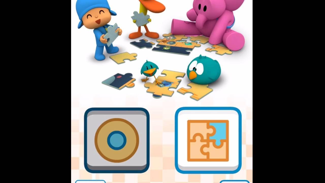 pocoyo puzzles free app english youtube