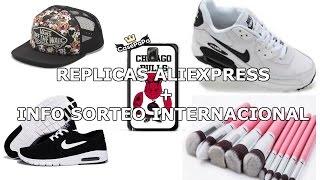 HAUL ALIEXPRESS REPLICAS #3 - NIKE (airmax, stefan janoski max), NBA, VANS, BROCHAS + INFO SORTEO
