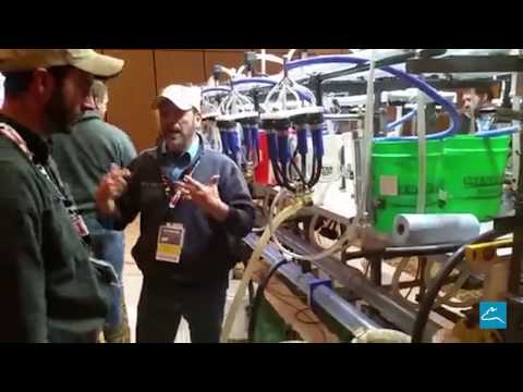 Milking system simulator at 2017 Indiana Dairy Forum