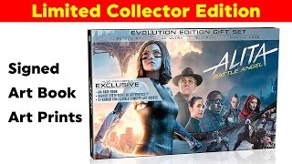 Alita Signed Limited Collector's Edition Blu-Ray - Evolution Edition