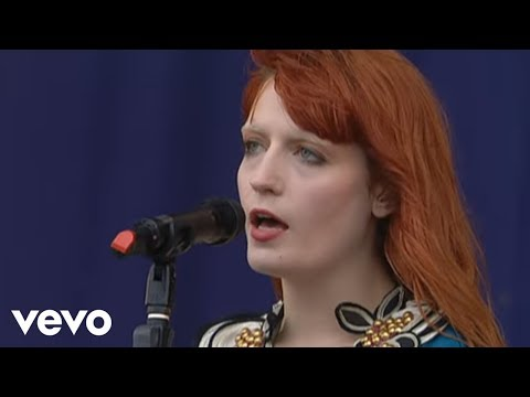Florence + The Machine  Heavy In Your Arms  At Oxegen Festival, 2010