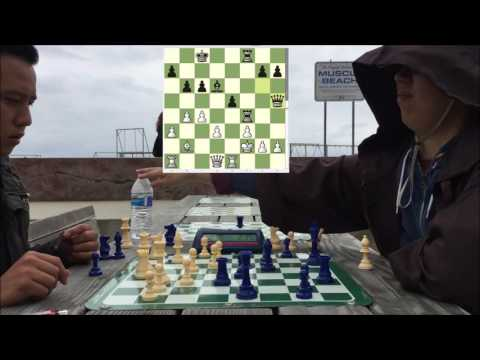 POT SMOKING CHESS HUSTLER SLAMS FIST vs. Chedi Knight (With Force Hand Waves!)