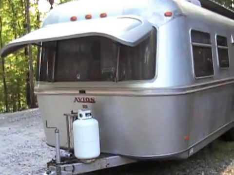 Sold 1973 Avion Lagrande 25 Camper Twin Beds Like