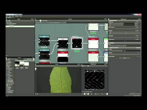 Procedural Leaf Creation In Substance Designer