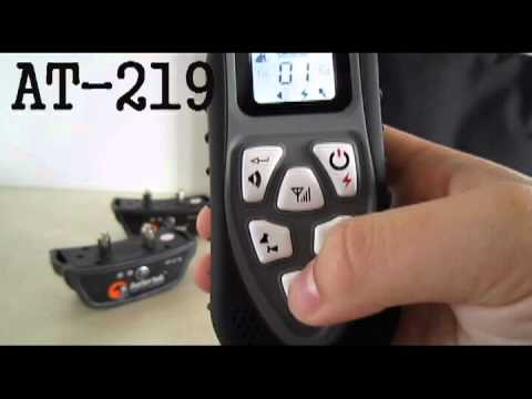 Aetertek AT-219 Remote Dog Training Collar - YouTube a88c5951d55