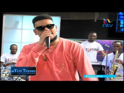 #theTrend: AKA freestyles with Kenyan band Tafsiri