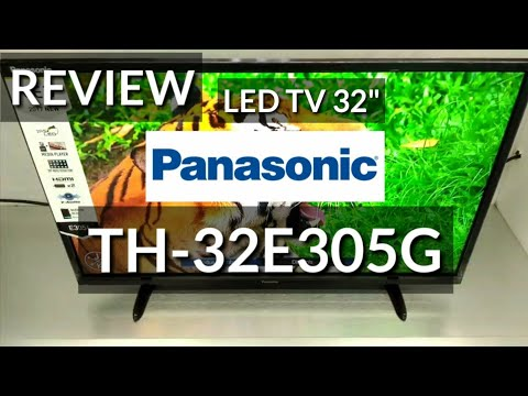 REVIEW LED TV 32 PANASONIC TH-32E305G indonesia HD