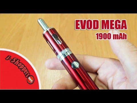 EVOD MEGA 1900 - обзор электронной сигареты от KangerTech