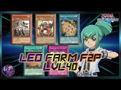 Leo Farming Deck LVL 40 F2P 7000+ !!! [Yu-Gi-Oh! Duel Links]