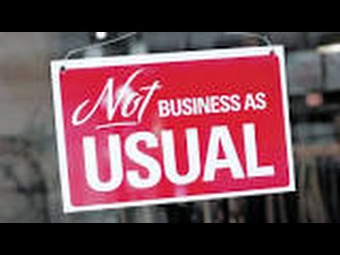 NOT Business As Usual (Documentary)