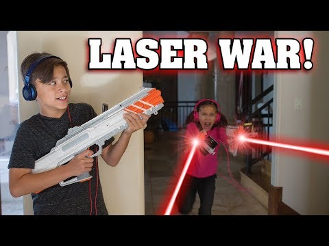 RECOIL LASER TAG WAR  Game Brought to Life