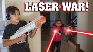 RECOIL LASER TAG WAR!!! Video Game Brought to Life! thumbnail