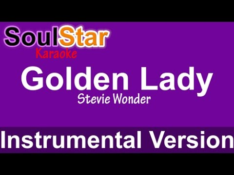 Stevie Wonder - Golden Lady (Instrumental/Karaoke)