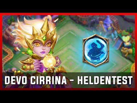DEVO Cirrina - Heldentest | Castle Clash [Deutsch]