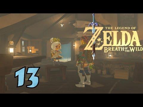 The Legend of Zelda: Breath of the Wild — Part 13 — Die durchgeknallte Purah
