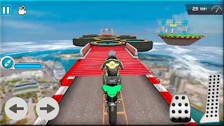 Impossible Bike Ride Games - Impossible Racing Games Android Gameplay