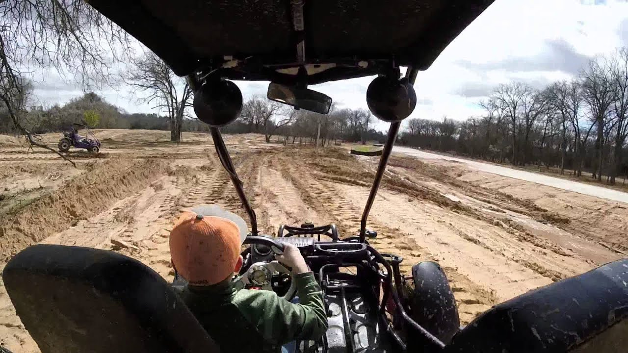 Trailing in the Trailmaster 150 XRX