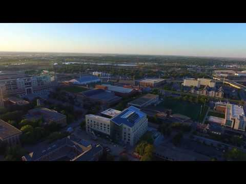 University of Nebraska Lincoln Campus Drone