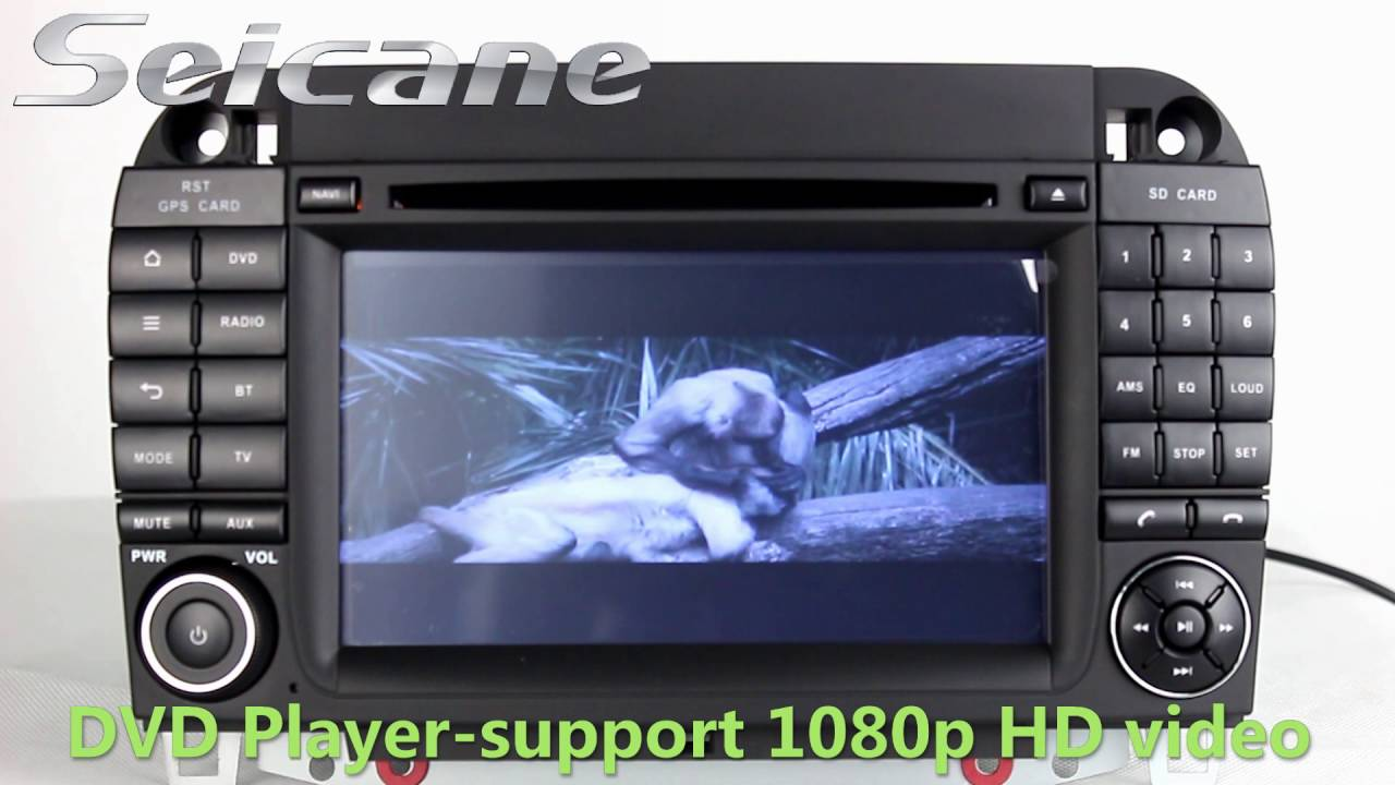 hight resolution of double din radio aftermarket car bluetooth for 1999 2006 mercedes benz s w220 with sat nav usb sd