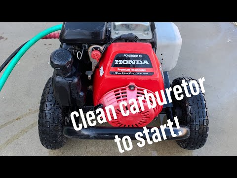 Honda GC160 Won't Start - Carburetor Cleaning and Tune Up