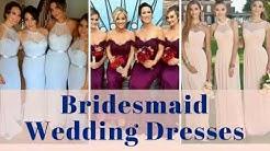 Bridesmaid Dresses - 300+ Wedding Bridal Bridesmaids Gowns Compilation Color Ideas