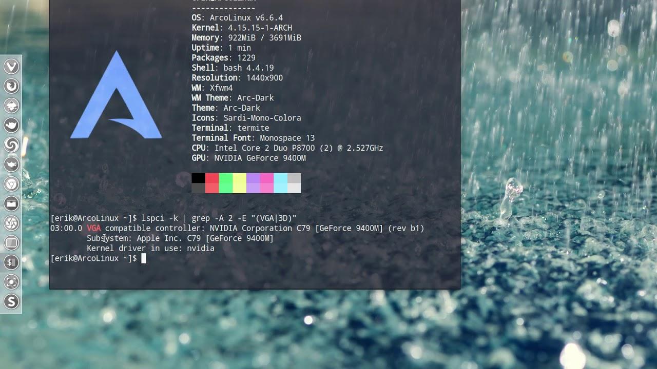 Installing ArcoLinux on MacBookPro5,4   Arcolinux com
