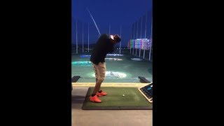 Funny Golf Shot Fail - Man Ends Up Losing The Club