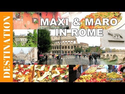 Rome Holiday - Holiday in Italy with Maxi and Maro - Rome attractions - Rome Travel video
