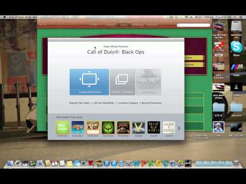 Call Of Duty: Black Ops Game center FIX!!! MAC
