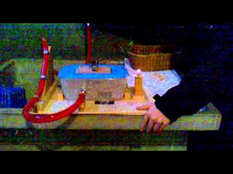 Modello di centrale idroelettricasfida a rulof87  YouTube
