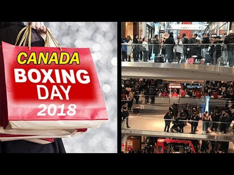 Boxing Day In Canada -- 2018 (Kataria TV)