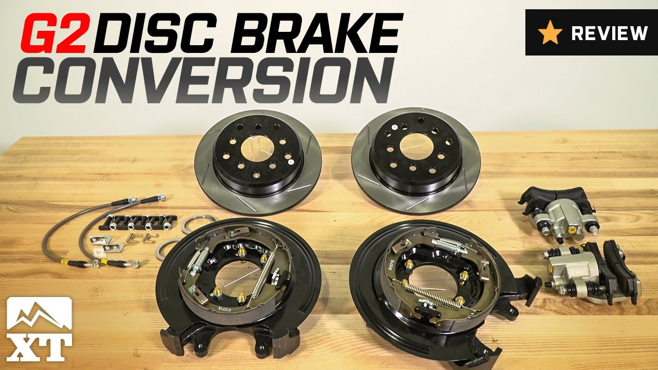 Jeep Wrangler G2 Disc Brake Conversion Kit 1990 2006 Yj Tj