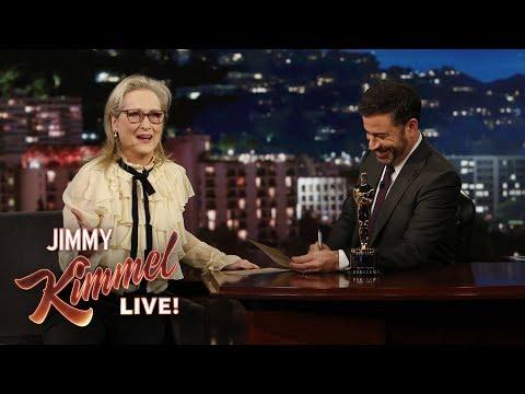 Meryl Streep Fails Oscar Quiz About Herself