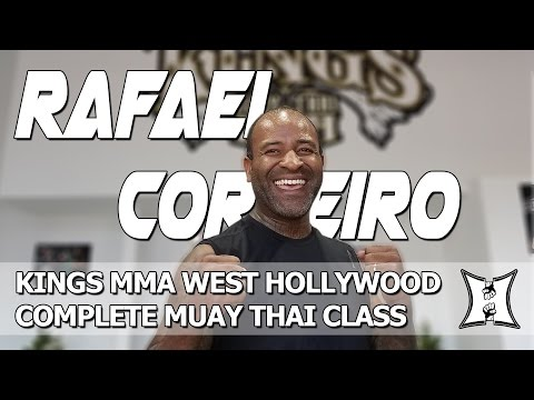 Kings MMA West Hollywood: Master Rafael Cordeiro's Muay Thai Class (LIVE!)