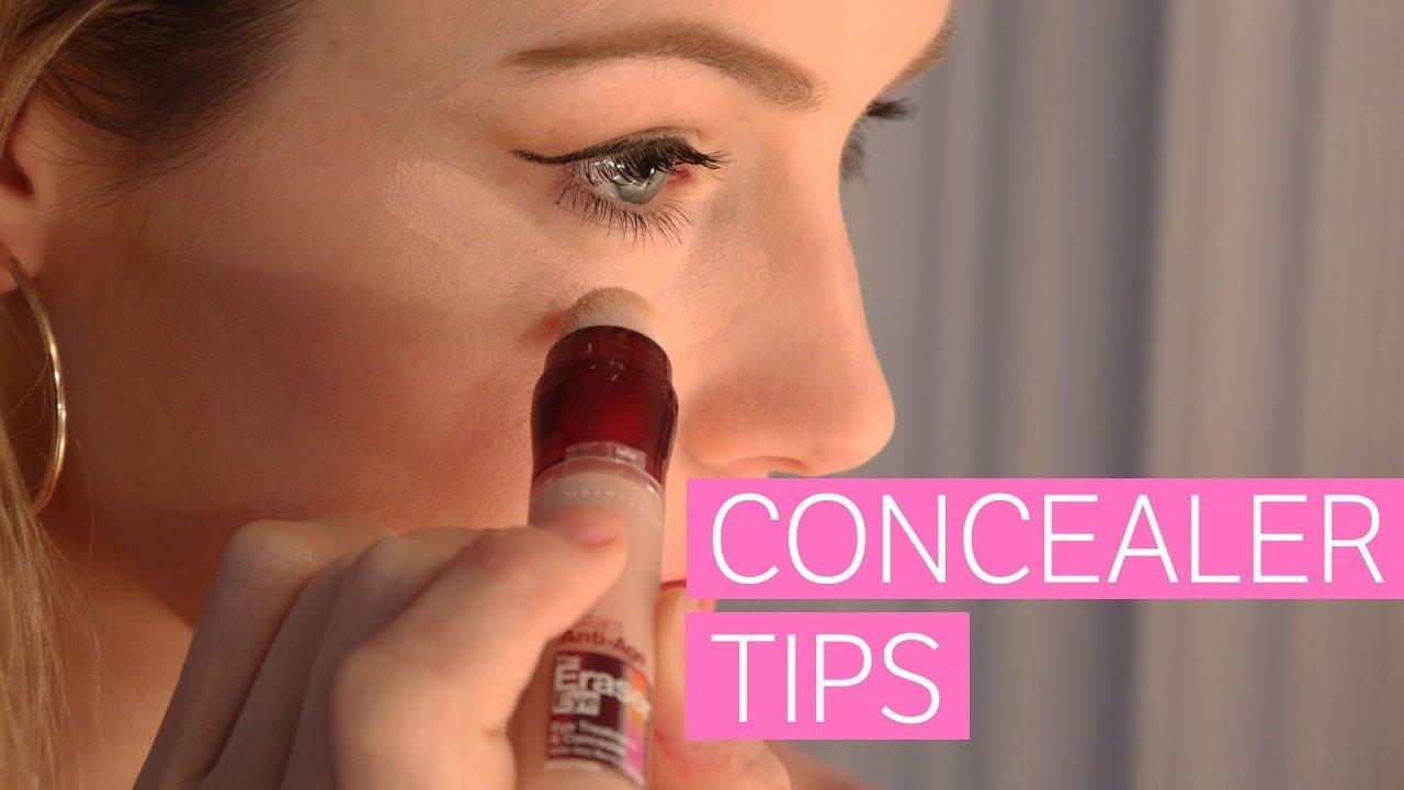 Tips En Tricks Voor Je Concealer Youtube
